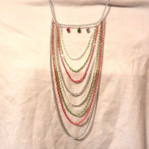 Multi Length Chain Bells Necklace Magnetic